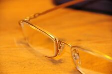 Specsavers gold rimed Eye Glasses Flexi 41  50 18-135 never worn (A01.19)