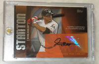 Yankees Giancarlo Stanton AUTO Topps Chasing The Dream RC 2013 Autograph Marlins