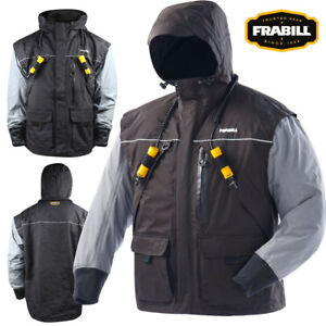 Frabill I2 Series Jacket (M)- Black Heather