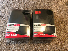 New Auto Craft Nylon Seat Cover Ac84111S Black Bench Seats
