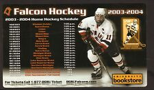 Bowling Green State Falcons--2003-04 Hockey Magnet Schedule