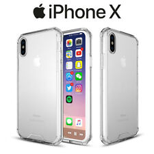Funda Gel TPU Transparente Antigolpes para iPhone X