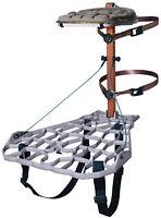 Lone Wolf Treestands Assault II Hang-On Lightweight, Quiet, Aluminum Platform...