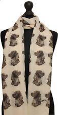 Foulard avec Setter Irlandais Chien sur femme Fashion Imprimé Châle Wrap Mike Sibley
