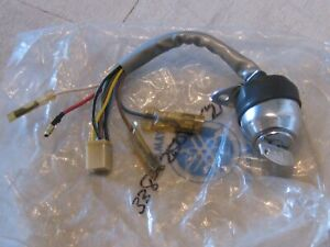 YAMAHA JT2MX/JT2/GT80/GT1 IGNITION SWITCH WITH KEY#221 NOS!
