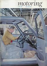 Motoring 6/67 Nuffield Mag Wolseley 18/85 Avon Rubber Co. Door Trim Panels +