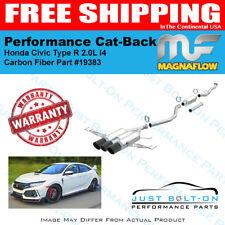 Magnaflow Competition Cat-Back Carbon Fiber For 2017-2018 Civic Type R #19383