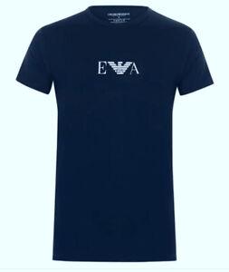 Emporio Armani Crew Neck T-Shirt  (Chest logo)
