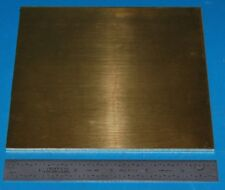 "Brass 260 Sheet, .125"" (3.2mm), 6x6"""