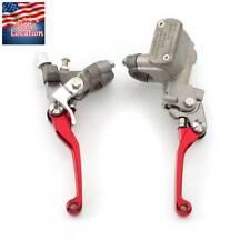 For Honda CR125R CR250R CR500R CRF150R USA Brake Master Cylinder Reservoir Lever