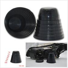 2 X Rubber Housing Seal Cap Dust Cover for Headlight HID Conversion Kit Retrofit
