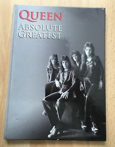 Queen - Absolute Greatest. Limited Edition 20 track CD within a A4 Hardback Book