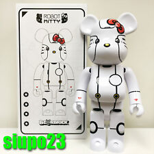 Medicom 1000% Bearbrick ~ Action City Hello Kitty Be@rbrick Robot Kitty White