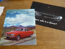 ROVER 2000 TC USA BROCHURE