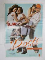 DOSTI 2005 AKSHAY KUMAR BOBBY DEOL LARA KAREENA   Rare Poster Bollywood Film