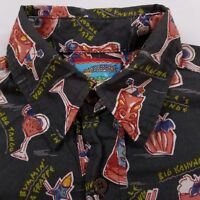 Joe Kealohas Reyn Spooner Short Sleeve Shirt Men's Small Big Kahuna
