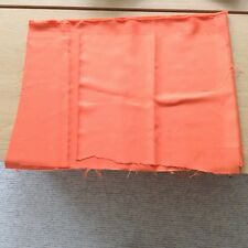 Fabric for bean bags cut offs Orange various 48x66 46x40 plus FREE SEWN PIECE