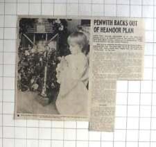 1976 5 1/2 Year Old Cynara, Marazion Praying At Christmas