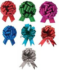 """14"""" Xl Large Giant Pull Bow Pew Bows Wedding Decorations Christmas Gift Wrap"""