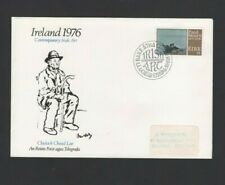 Ireland Stamps:1976 llustrated FDC – Contemporary Irish Art (8th Issue) SG 398