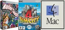 roller coaster tycoon 3 (NO MANUAL) & sim city 4 deluxe (complete with manual)