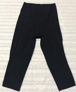 Jockey Shapewear Shorts Size Medium Black Shaping Belly Thigh Girdle