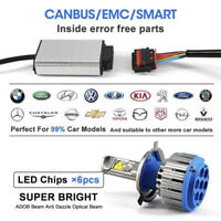 2 X Car H7 6000K Canbus LED Lamp Headlight Bulbs Kit Cool White 70W 8000LM Beam