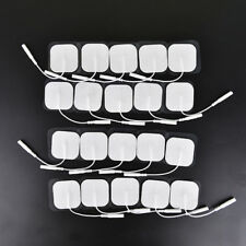 20 Stück tens Therapie Quadrat Elektroden Polster Elektroden-Patch für Thera AA