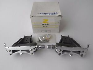 *NOS Vintage 1990s Campagnolo Xenon aero pedals with mounting kit*