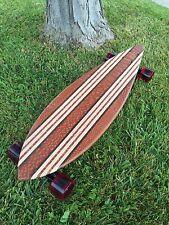 "Longboard Wood Custom - Leopardwood - ""Piha"""
