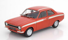 CULT SCALE MODELS - FORD ESCORT MK1 MEXICO RED WITH WHITE STRIPES 1:18 SCALE