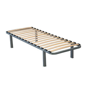 "STATIC CARAVAN SINGLE BED FIXED LEGS - 6ft x 2ft 3"" CARAVAN BED FRAME BEDS SLATS"