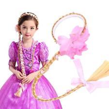 Cosplay Weaving Braid Tangled Rapunzel Princess Headband Hair Girls Wig #4