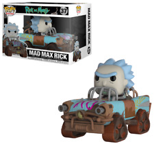 28456 Morty Mad Max Rick Pop Rides Multi-colour
