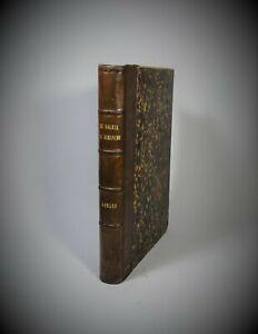 Recueil de Romans L'ILLUSTRE SOLEIL DU DIMANCHE Le Moniteur de La Mode XIX Relié