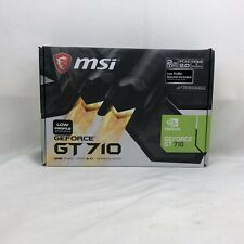 MSI NVIDIA GeForce GT 710 2GB DDR3 Graphics Card (GT 710 1GD3H LPV1)