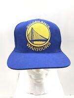 Adidas Golden State Warriors NBA Snap Back Adjustable Hat Blue