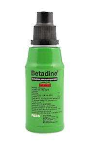 BETADINE ORIGINAL Mouth Wash Gargle AntiSeptic Throat Oral Iodine 125ml Solution