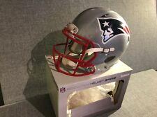 New listing NFL Riddell Revolution Speed Patriots Football Helmet