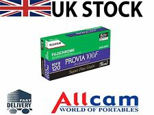 5 Pack: Fuji Provia 100F RDP III Size 120 Colour Reversal Film, New