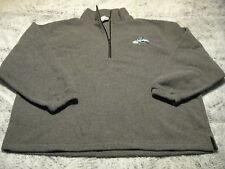 Richmond Renagaddes Echl Vintage Hockey Soft Fleece Pullover Gray 3Xl New w Tags