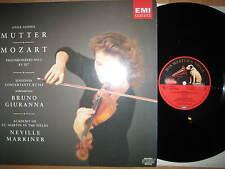 LP Anne-Sophie Mutter Mozart Neville Marriner Violinkonzert No.1 Bruno Giuranna