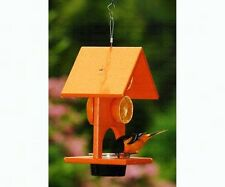 Songbird Essentials FRUIT and JELLY ORIOLE FEEDER, Large Capacity, MADE IN USA