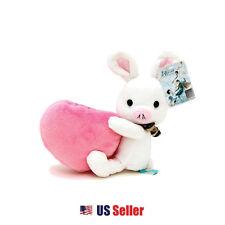 "Korean Drama ""You are Beautiful"" Pig Rabbit Plush Toy Holder : Pink Heart"