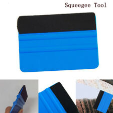 Blue For 3M Pro Felt Edge Vinyl Car Bike Van Wrap Wrapping Squeegee Tool Scraper