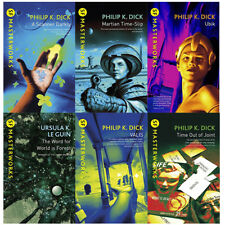 Philip K. Dick S.f. Masterworks Collection 6 Books Set (a Scanner Darkly Martian Time-slip Ubik The Word for World Is Forest Valis Time out of Joint) Paperback – 2017