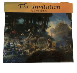 'The Invitation' by Tom du Bois 3000 Pc Jigsaw Puzzle Factory Sealed 42.25X31.12