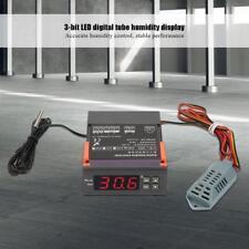 AC 220V Digital Air Humidity Control Controller WH8040 Range 1 -99 RH Sensor