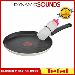 Tefal Sausage Dog 25cm Pancake Pan With Bottle - B6799042