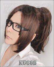 Attack on Titan Shingeki no Kyojin Hanji Zoe Cosplay Wig Without Glasses + Cap